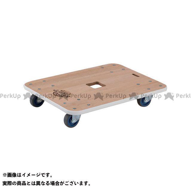 TRUSCO 作業場工具 木製平台車 ジュピター 450×450 φ75 200kg  TRUSCO