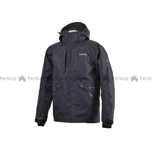 アーバニズム ジャケット 2019-2020秋冬モデル UNJ-073 オールラウンドWPジャケット(ブラック) サイズ:M urbanism