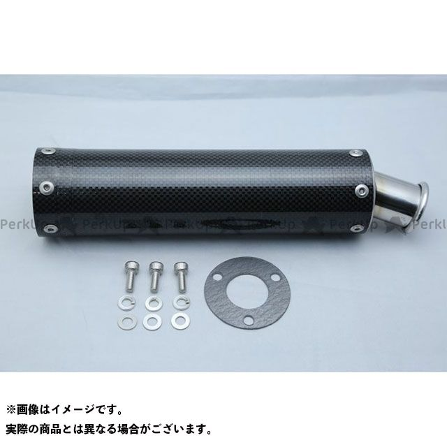 T2Racing NSR250R インナーサイレンサー カーボン・ステンレスサイレンサー ステッカー:長方形タイプ T2レーシング