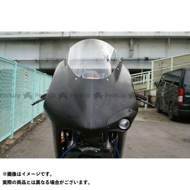T2Racing NSR250R カウル・エアロ TYPE-1ライトユニット(黒ゲル) T2レーシング