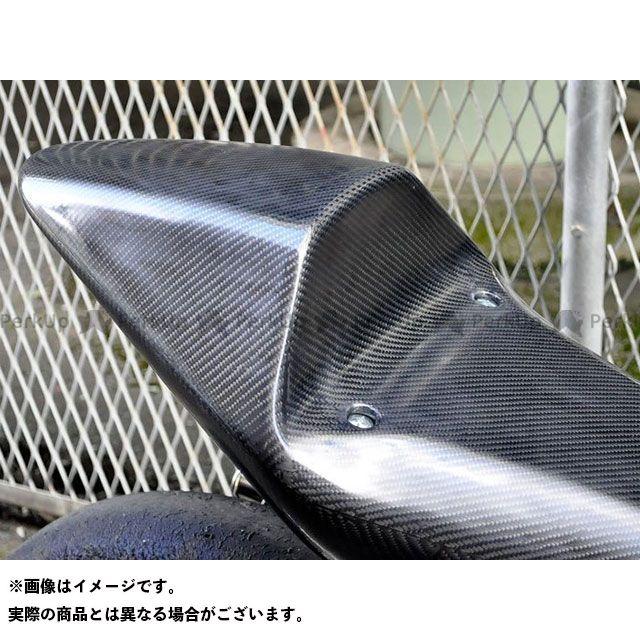 T2Racing NSR250R カウル・エアロ MC18 シートカウル タイプ1 ストリート カーボン+黒ゲル蓋 テールユニット:スモークレンズ T2レーシング