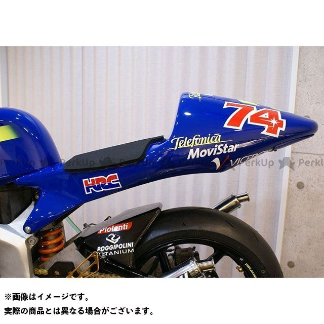 T2Racing NSR250R カウル・エアロ MC21 シートカウル タイプ2 ストリートタイプ+カーボン蓋 テールユニット:クリアレンズ T2レーシング