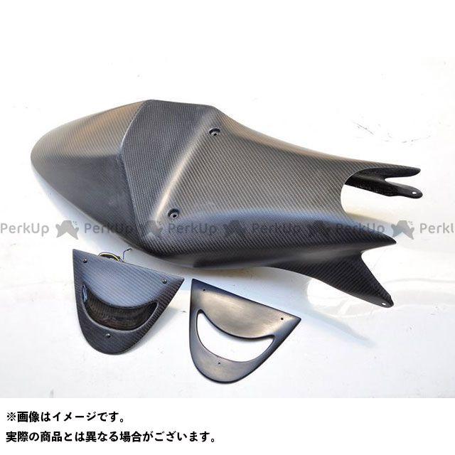 T2Racing NSR250R カウル・エアロ MC18 シートカウル タイプ4 ストリート カーボン+黒ゲル蓋 テールユニット:スモークレンズ T2レーシング