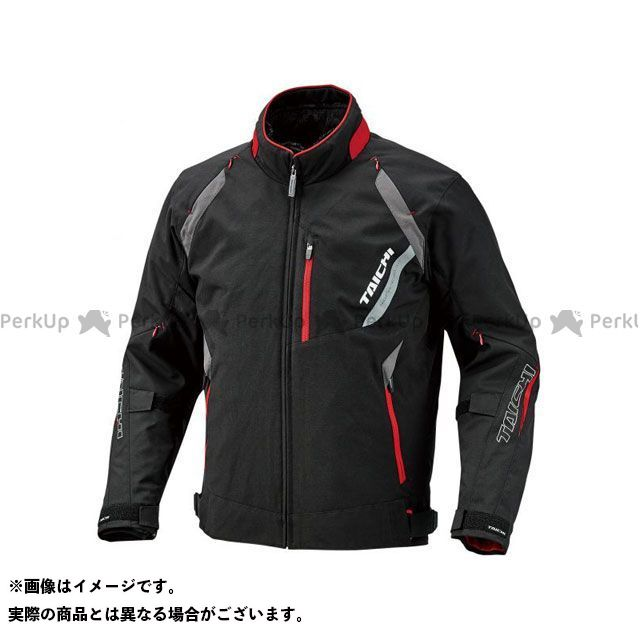 アールエスタイチ ジャケット 2019-2020秋冬モデル RSJ713 ストライカー オールシーズン ジャケット(ブラック/レッド) サイズ:XXL RSタイチ