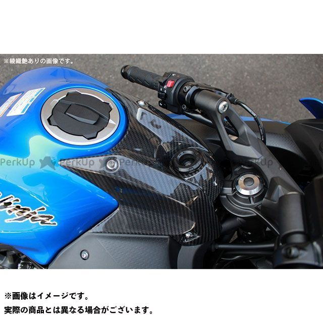 エスエスケー ニンジャ650 Z650 タンク関連パーツ タンクトップカバー ドライカーボン 仕様:平織り艶消し SSK