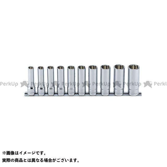 【無料雑誌付き】Ko-ken ハンドツール RS4310M/10 1/2(12.7mm)SQ. サーフェイスディープソケットレールセット 10ヶ組 Ko-ken