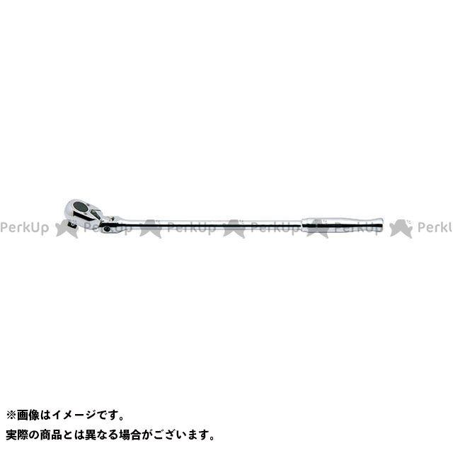 【無料雑誌付き】Ko-ken ハンドツール 4774P-450 1/2(12.7mm)SQ. 首振りロングラチェットハンドル(ポリッシュグリップ) 全長450mm Ko-ken