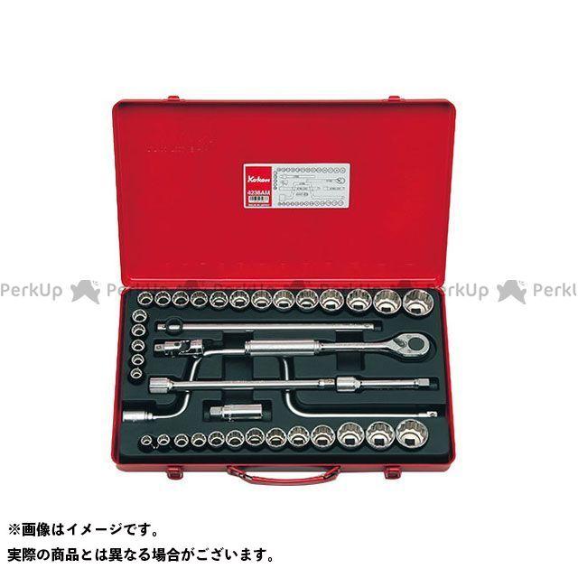 Ko-ken ハンドツール 4238AM 1/2(12.7mm)SQ. ソケットセット 38ヶ組 Ko-ken