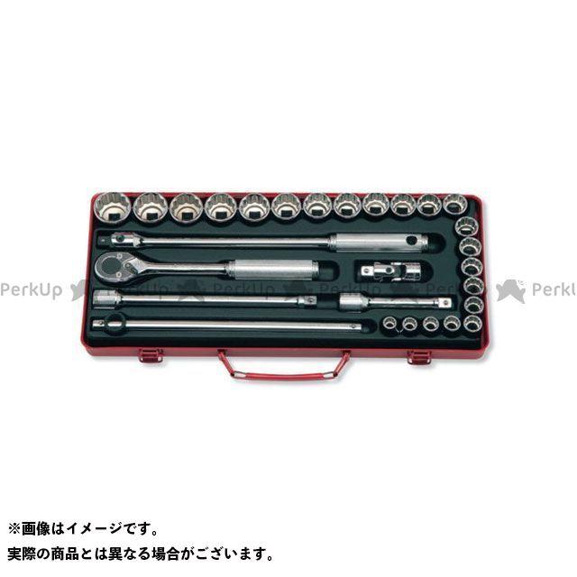 Ko-ken ハンドツール 4241A 1/2(12.7mm)SQ. ソケットセット 19ヶ組 Ko-ken