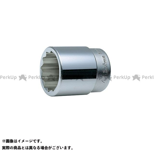 Ko-ken ハンドツール 8405M-47 1(25.4mm)SQ. 6角ソケット 47mm  Ko-ken