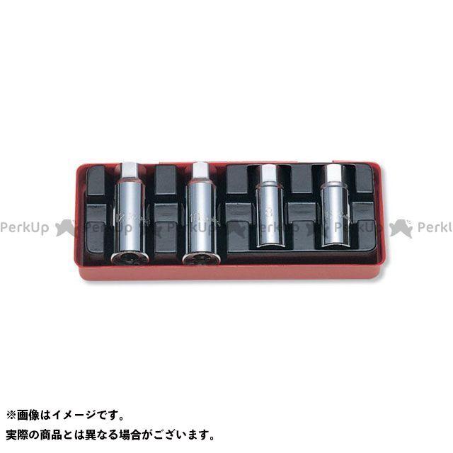 【無料雑誌付き】Ko-ken ハンドツール 4211A 1/2(12.7mm)SQ. スタッドボルト抜き 4ヶ組 Ko-ken
