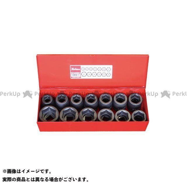 Ko-ken ハンドツール 16201M 3/4(19mm)SQ. インパクト6角ソケットセット 13ヶ組  Ko-ken