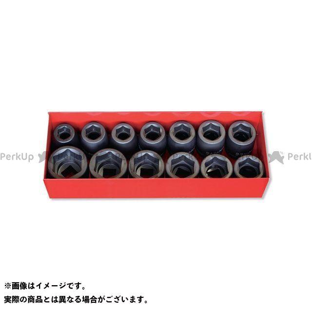 【無料雑誌付き】Ko-ken ハンドツール 16201A 3/4(19mm)SQ. インパクト6角ソケットセット 11ヶ組 Ko-ken