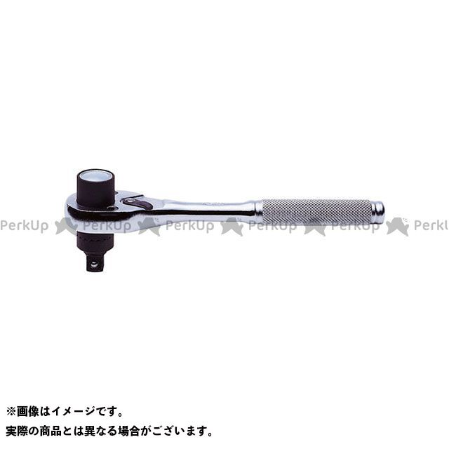 Ko-ken ハンドツール 3751N-25 3/8(9.5mm)SQ. トルクラチェットハンドル(ローレットグリップ) 25Nm  Ko-ken