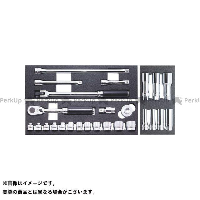 Ko-ken ハンドツール Z-EAL 3/8 フルセット 26ヶ組  Ko-ken