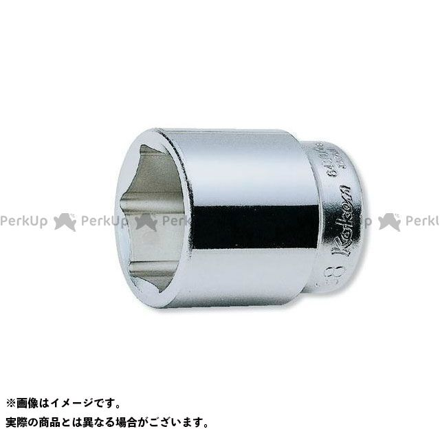 Ko-ken ハンドツール 6400M-80 3/4sq.6Pスタンダードソケット80mm  Ko-ken