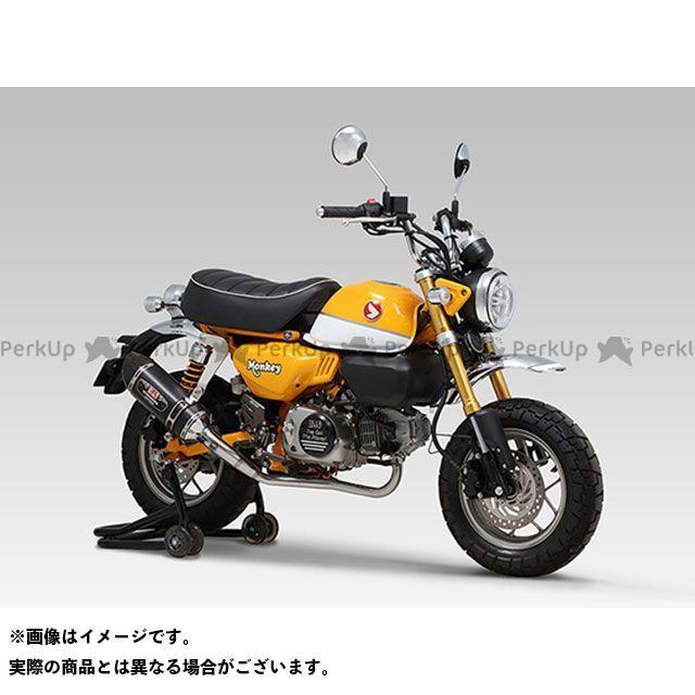 【エントリーで最大P23倍】YOSHIMURA モンキー125 マフラー本体 機械曲 R-77S サイクロンカーボンエンドTYPE-Down EXPORT SPEC 政府認証 SMC ヨシムラ