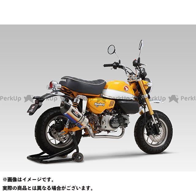 【エントリーで最大P23倍】YOSHIMURA モンキー125 マフラー本体 機械曲 R-77S サイクロンカーボンエンドTYPE-Down EXPORT SPEC 政府認証 STBC ヨシムラ