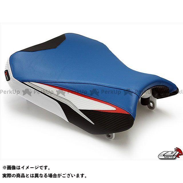 【エントリーで最大P21倍】 GSX-R600 GSX-R750 シート関連パーツ フロント シートカバー Team Suzuki LUI MOTO