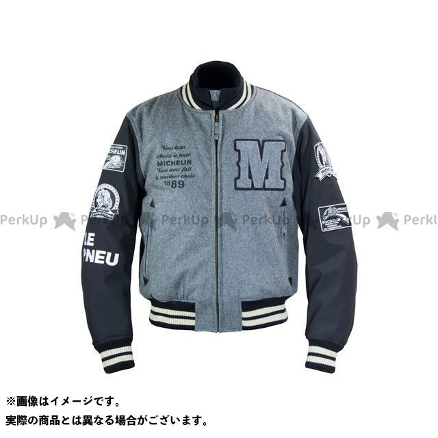 Michelin ジャケット 2019-2020秋冬モデル ML19110W AWARD JACKET(グレー/ブラック) カラー:L2W ミシュラン