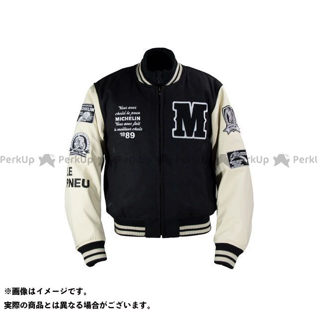 Michelin ジャケット 2019-2020秋冬モデル ML19110W AWARD JACKET(ブラック/アイボリー) カラー:XL ミシュラン