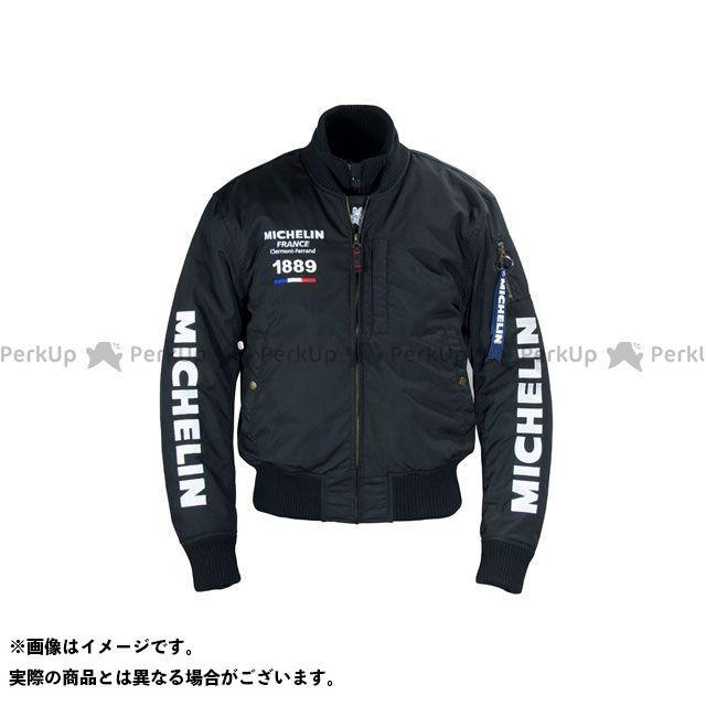 Michelin ジャケット 2019-2020秋冬モデル ML19112W NYLON JACKET(ブラック) カラー:2XL ミシュラン