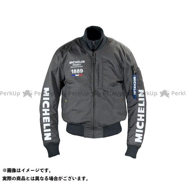Michelin ジャケット 2019-2020秋冬モデル ML19112W NYLON JACKET(グレー) カラー:2XL ミシュラン