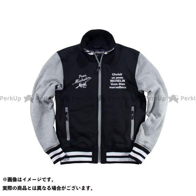 Michelin ジャケット 2019-2020秋冬モデル ML19402W SWEAT JACKET(ブラック/グレー) カラー:XL ミシュラン