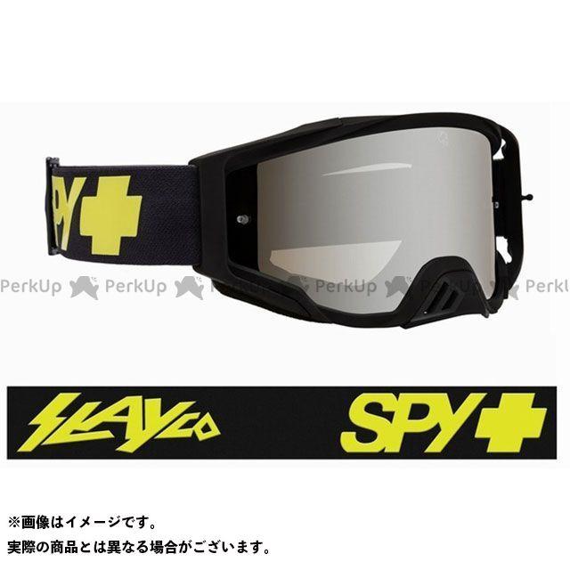 スパイ ゴーグル本体 Foundation Plus モトクロスゴーグル(SlayCo World Record HD Smoke with Silver Spectra with Clear Posts - HD Clear ) SPY