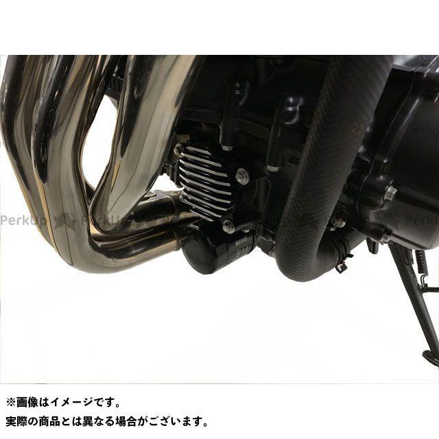 KIJIMA Z900RS Z900RSカフェ ドレスアップ・カバー オイルラインカバー アルミビレット(コントラストカット) キジマ