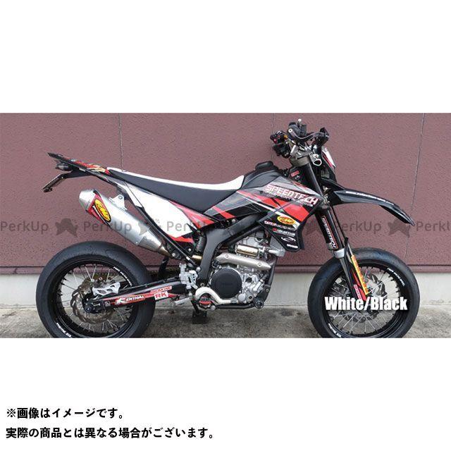 SPIRAL WR250R WR250X シート関連パーツ コンプリートシート ハイ(ホワイト/ブラック) スパイラル