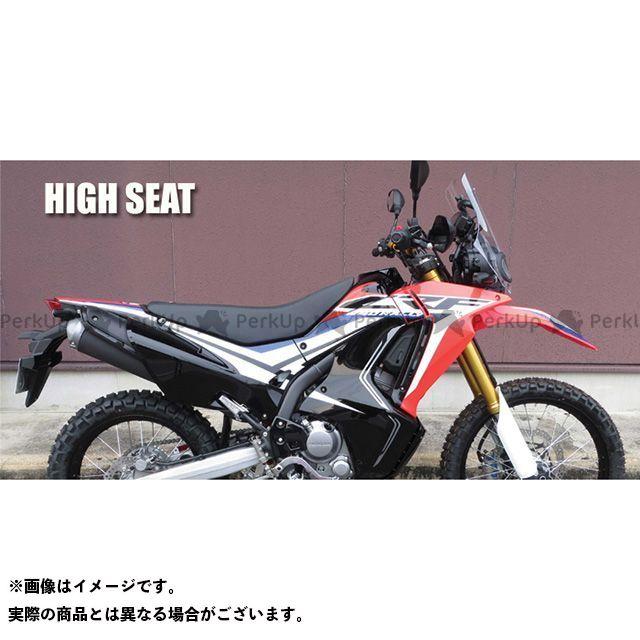 【無料雑誌付き】SPIRAL CRF250L CRF250M CRF250ラリー シート関連パーツ コンプリートシート ハイ(ブラック) スパイラル
