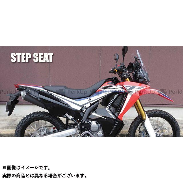 SPIRAL CRF250L CRF250M CRF250ラリー シート関連パーツ コンプリートシート ステップ(ブラック) スパイラル