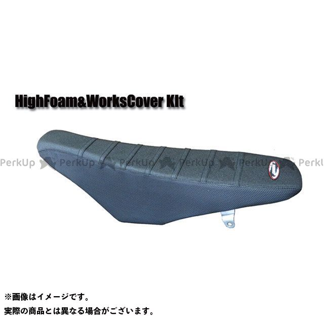 SPIRAL CRF150R シート関連パーツ フォーム&TABカバーセット ハイ(ブラック) スパイラル