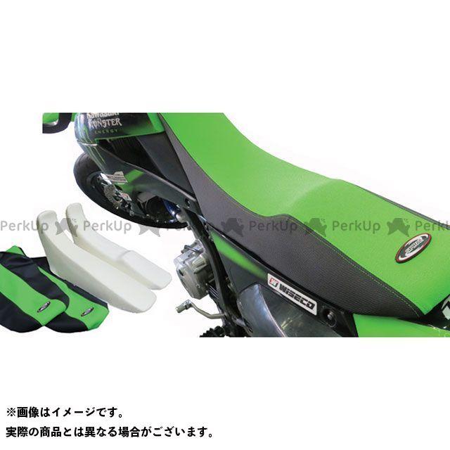 SPIRAL DトラッカーX KLX250 シート関連パーツ フォーム&カバーセット ステップ(グリーン/ブラック) スパイラル