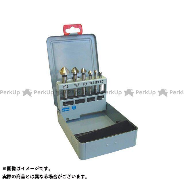 【エントリーで最大P21倍】プロチ 切削工具 PRC-906S カウンターシンクセット 90°6本組 HSS PROCHI