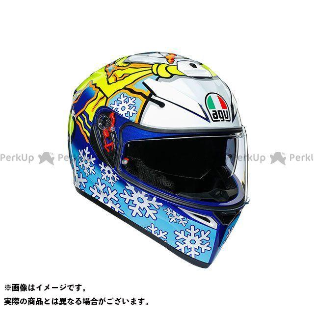 エージーブイ フルフェイスヘルメット K-3 SV 001-ROSSI WINTER TEST 2016 サイズ:XL AGV