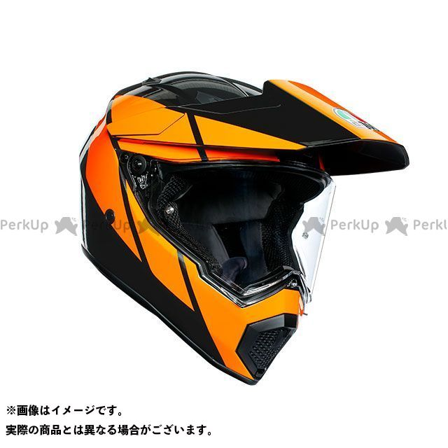 エージーブイ フルフェイスヘルメット AX9 006-ATLANTE WHITE/BLUE/RED サイズ:L AGV