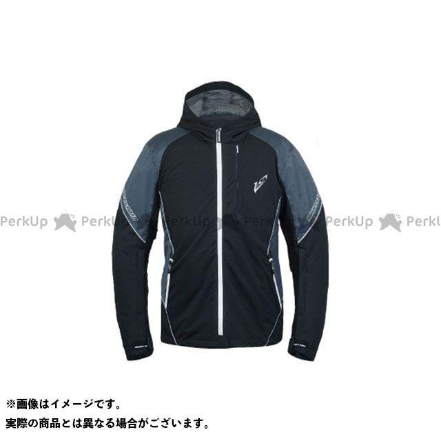 ラフアンドロード ジャケット 2019-2020秋冬モデル RR4013 SSFスポーツライドZIPパーカーFP(ブラック×ホワイト) サイズ:L ラフ&ロード