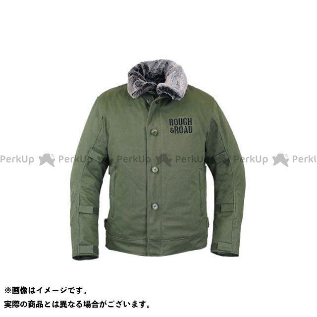 【特価品】ラフアンドロード ジャケット 2019-2020秋冬モデル RR7691 N-1RボアウインタージャケットFP(オリーブ) サイズ:XL ラフ&ロード