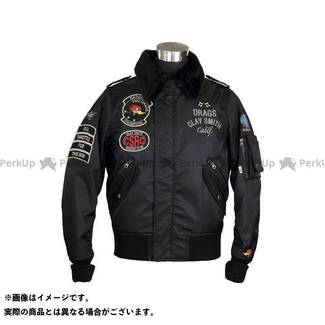 Clay Smith クレイスミス ジャケット バイクウェア クレイスミス ジャケット 2019-2020秋冬モデル CSY-8320 DRAG FORCE ウィンタージャケット(ブラック) M Clay Smith