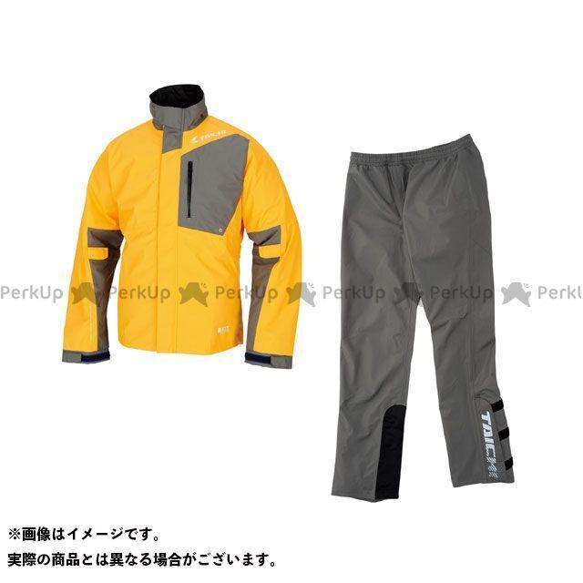 【無料雑誌付き】RSTAICHI レインウェア RSR043 DRYMASTER-X レインスーツ カラー:イエロー サイズ:S RSタイチ