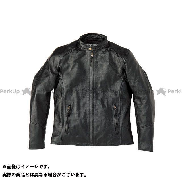 MET'Z ジャケット MLJ-1801 シングルライダース(ブラック) サイズ:3L MET'Z