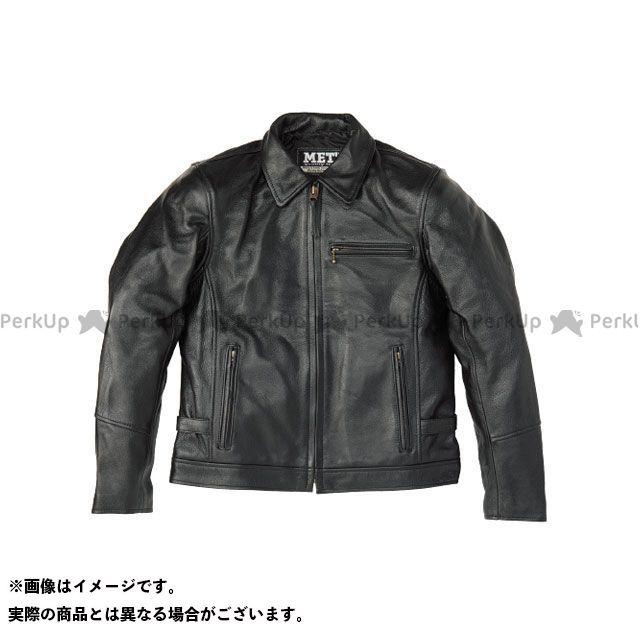 MET'Z ジャケット MLJ-1803 シャツ襟ライダース(ブラック) サイズ:M/S MET'Z
