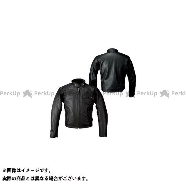 ルーキー 即日出荷 Rookie 海外 ジャケット バイクウェア RLJ-02N ブラック JAC LEATHER サイズ:LL シングルショート