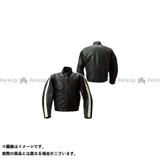 Rookie ジャケット RLJ-06N シングルライン LEATHER JAC(ブラック) サイズ:M Rookie