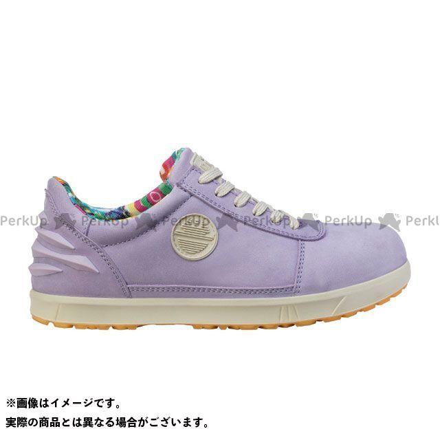 DIKE メカニックシューズ 25611-890 作業靴レディーD(ラベンダー) サイズ:24.5cm DIKE