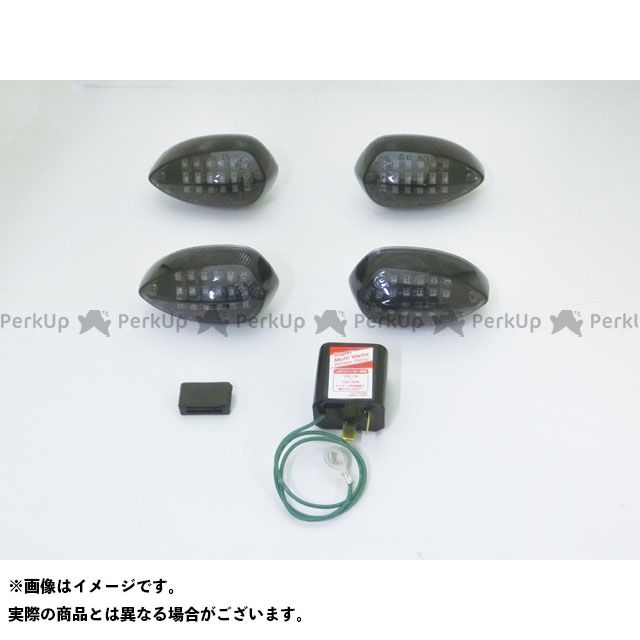 C.F.POSH ウインカー関連パーツ LEDウインカー カスタマイジングキット シーケンシャルタイプ(スモークレンズ) クリエイティブ・ファクトリー ポッシュ