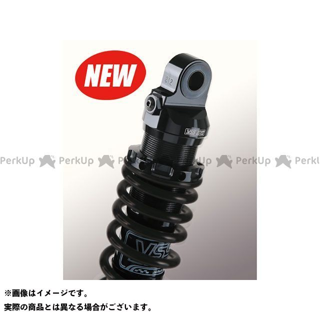 YSS RACING ゼファー1100 リアサスペンション関連パーツ Sports Line S362 350mm ボディカラー:ブラック スプリングカラー:マットブラック YSS
