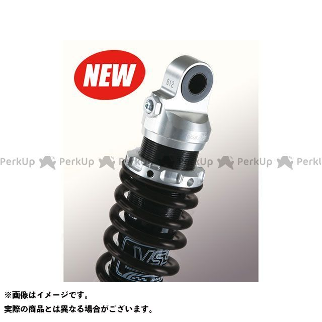 YSS RACING VMAX リアサスペンション関連パーツ Sports Line G362 330mm ボディカラー:シルバー スプリングカラー:マットブラック YSS